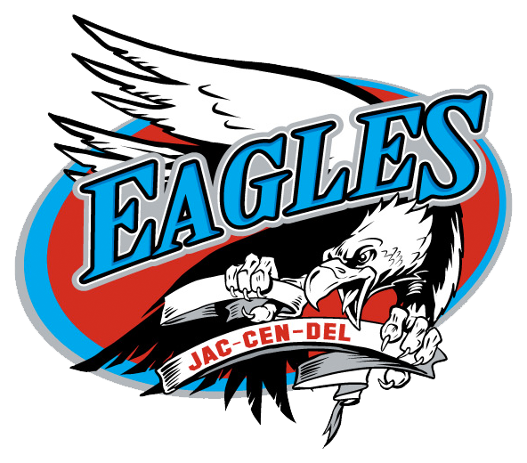 Jac-Cen-Del Eagles Logo